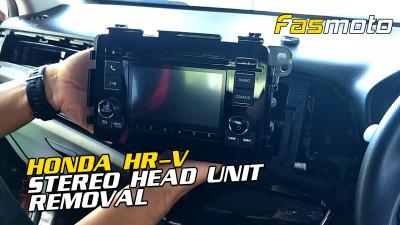 Honda HRV XRV Vezel Stereo Head Unit Removal | Car buka player Honda HRV Vezel