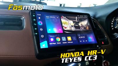 Honda HR-V Teyes CC3 Install