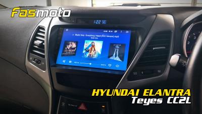 Hyundai Elantra Teyes CC2L install | Head Unit Removal