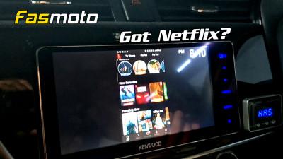 Netflix on Kenwood DDX918WS