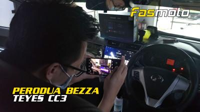 Perodua Bezza 2020 Teyes CC3 Android Head Unit install