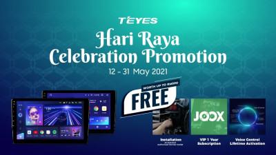 Teyes CC3 Hari Raya Festive Promotion 2021