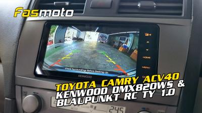 Toyota Camry ACV40 Kenwood DMX820WS Blaupunkt RC TY 1.0