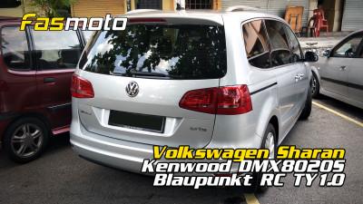 Volkswagen Sharan Kenwood DMX8020S Blaupunkt RC TY1.0 | VW Sharan Radio Removal