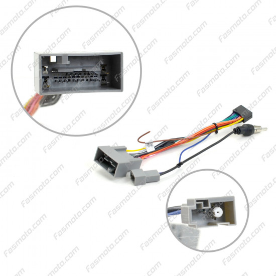 """9"""" Android Player Dashboard Installation Kit for Honda STREAM 2001-2005 with Plug-and-Play Wire Harness"""
