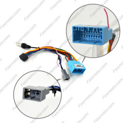 """9"""" Android Player Dashboard Installation Kit for Honda ODYSSEY RB1 / RB2 2004-2008 with Plug-and-Play Wire Harness"""