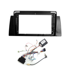 "9"" Android Player Dashboard Installation Kit for BMW E39 1995-2003 with Plug-and-Play Wire Harness"