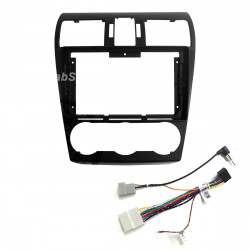 """9"""" Android Player Dashboard Installation Kit for Subaru FORESTER 2013-2019 with Plug-and-Play Wire Harness"""