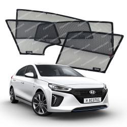 High Quality Made in Malaysia Magnetic Sun Shades for Hyundai IONIQ 2016-2020 (4 pcs)