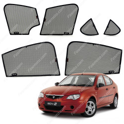 High Quality Made in Malaysia Magnetic Sun Shades for Proton GEN 2 2004-2011 (6 pcs)