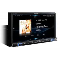 "Alpine iLX-702D 7"" Digital Media Station Apple CarPlay Android Auto (No DVD)"