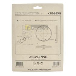 Alpine KTE-S65G 6.5 inch Grill for S-S65GC and S-S65 Speakers (1 Pair)