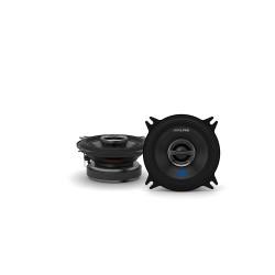 "Alpine S-S40 S Series 4"" (10cm) 2 Way Coaxial Speaker Set 45W RMS"
