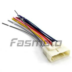 IAL-936F Isuzu D-Max Car Stereo Wiring OE Harness Adapter (Female)