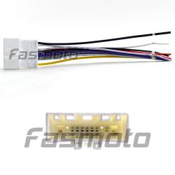 NAL-704F 2007-2016 Nissan, Subaru Car Stereo Wiring OE Harness Adapter (Female)