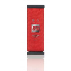 Autoglym HTCLOTH Hi - Tech Finishing Cloth (Red) microfiber towel for buffing