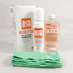 AutoGlym Silicone Pumpasol Cleaner & Protectant Kit