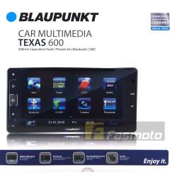 "BLAUPUNKT TEXAS 600 6.75"" 200mm Wide Bluetooth DVD USB Aux Receiver w/o Navigation"