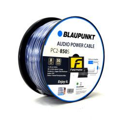 BLAUPUNKT PC2-850S 8 Gauge Copper Clad Aluminum (CCA) Audio Power Cable 8 Gauge Blue (Sold per Meter)