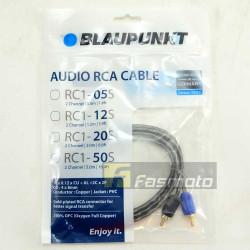 Blaupunkt RC1-05S 2 Channel RCA Audio Cable 0.5M (1.6 ft) Oxygen Full Copper