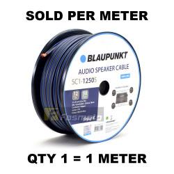 BLAUPUNKT SC1-1250S Audio Speaker Wires 12 Gauge Black and Blue (Sold per Meter)