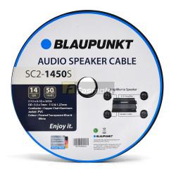 BLAUPUNKT SC2-1450S Audio Speaker Wires 14 Gauge White and Blue (Sold per Meter)