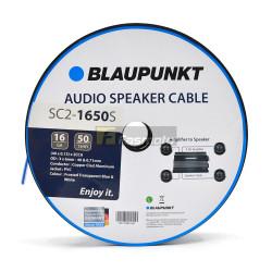 BLAUPUNKT SC2-1650S Audio Speaker Wires 16 Gauge White and Blue (Sold per Meter)