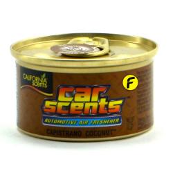 California Scents Capistrano Coconut Car Air Freshener