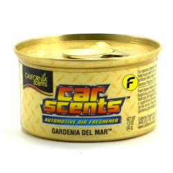 California Scents Gardenia Del Mar Car Air Freshener