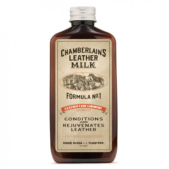 Chamberlain's Leather Milk Leather Care Liniment No. 1 – Premium Leather Conditioner (177ml)