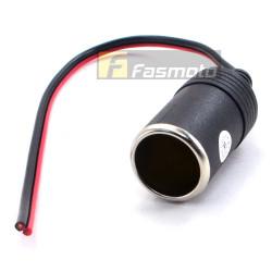 12V Cigarette Lighter Receptacle Power Outlet Socket Female No Fuse DPC-100