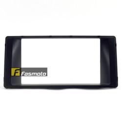 Perodua Myvi ICON '15 Double DIN BLACK Car Stereo Installation Dash Kit