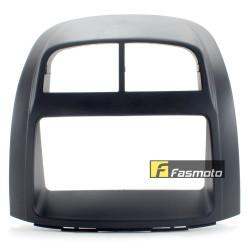 Perodua Myvi / Toyota Passo Double DIN BLACK Car Stereo Installation Dash Kit