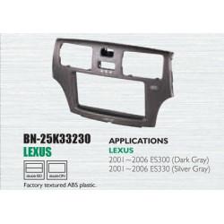Lexus ES300/330 Yr '01-'06 Dark Grey Dashboard Kit, Car Audio Player Installation Casing