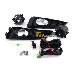DLAA HD647 Honda City GM6 '14 Fog Lamp Kit with H11 Halogen Bulbs