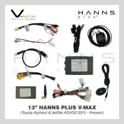HANNS Plus V-Max 13″ Vertical Screen Android Head Unit (Toyota Alphard & Vellfire (AGH30) 2015~Present)