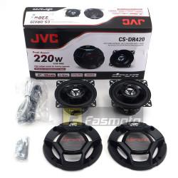 JVC CS-DR420 DR Series 4 inch 2 way Car Speakers 35W RMS