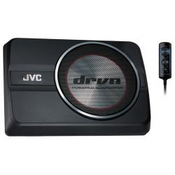 "JVC CW-DRA8 8"" 150W(RMS) 250W (MAX) Class D Active Subwoofer"