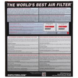K&N Air Filter 33-5037 for some Honda HR-V, and Honda Vezel models