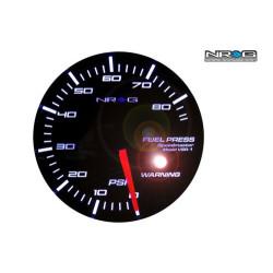 NRG High Performance Gauges Fuel Pressure Meter