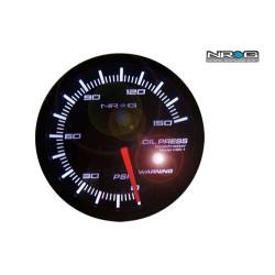 NRG High Performance Gauges Oil Pressure Meter