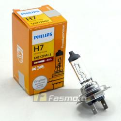 PHILIPS 12972PRC1 H7 Premium Vision 12V 55W PX26d Single Filament Bulb 12V