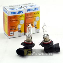 PHILIPS 9005PRC1 HB3 Premium Vision 12V 60W P20d Single Filament Bulb 12V