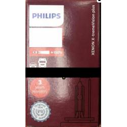 PHILIPS 42402XV2C1 D4S 4800K XENON Standard HID +150% Brighter Bulb(1 Piece)