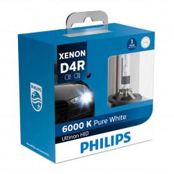 PHILIPS 42406WXX2 D4R 6000K XENON Standard HID Headlight Bulb (1 Pair)