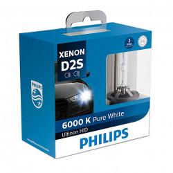 PHILIPS 85122WXX2 D2S 6000K XENON Standard HID Headlight Bulb (1 Pair)