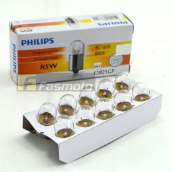 PHILIPS 12821CP R5W Conventional 12V 5W BA15s Light Bulb