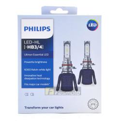 PHILIPS 11005UEX2 HB3 HB4 Ultinon Essential LED Head Light 6000K 12V (1 Pair)