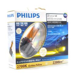 PHILIPS 12793UNIX2 H8 H11 H16 X-treme Ultinon LED Fog Light 2700K Yellow (1 Pair)