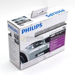 PHILIPS 12824WLEDX1 Daylight 8 DRL Daytime Running Lights 12V (1 Pair)